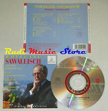 CD WOLFGANG SAWALLISCH concerto brandeburghese 5 BACH sinfonia 3 D 200 lp mc dvd