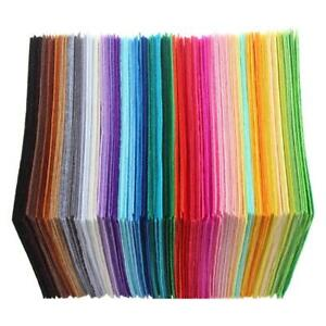 40pcs-Non-Woven-Polyester-Cloth-DIY-Crafts-Felt-Fabric-Sewing-Accessories-Tools