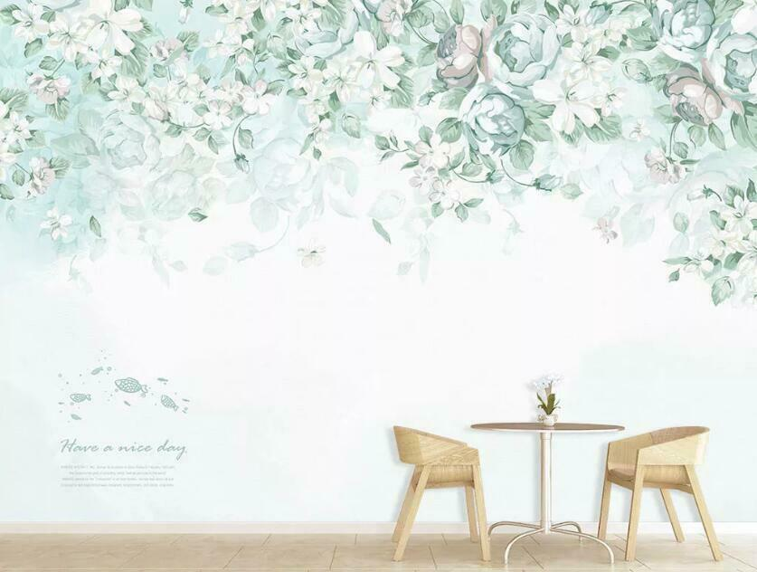 3D Fresh Style N1727 Wallpaper Wall Mural Removable Self-adhesive Sticker Amy