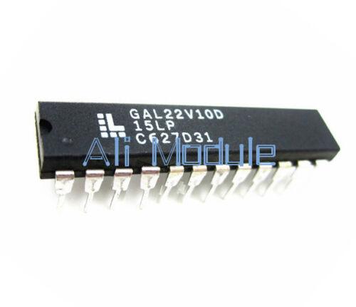 2PCS GAL22V10D-15LP GAL22V10D DIP-24 LATTICE IC Electronic Component NEW