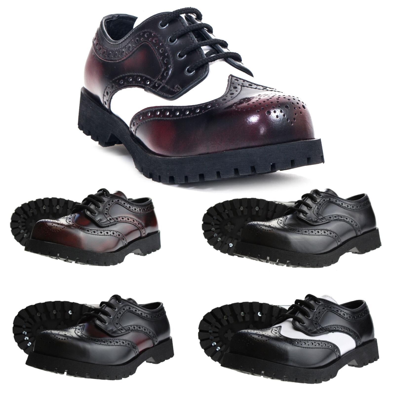 brand new 35f68 2b0b9 Boots   jambes - 4-trou de Budapest Chaussures Acier Capuchon Capuchon  Capuchon plusieurs Couleurs eed65b
