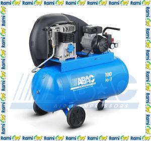 A29B 200 CM3 professionale aria compressa compressore a cinghia 200 lt ABAC