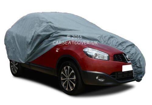 premium Resistente al Agua Transpirable Coche Cubierta Nissan Qashqai 14 on