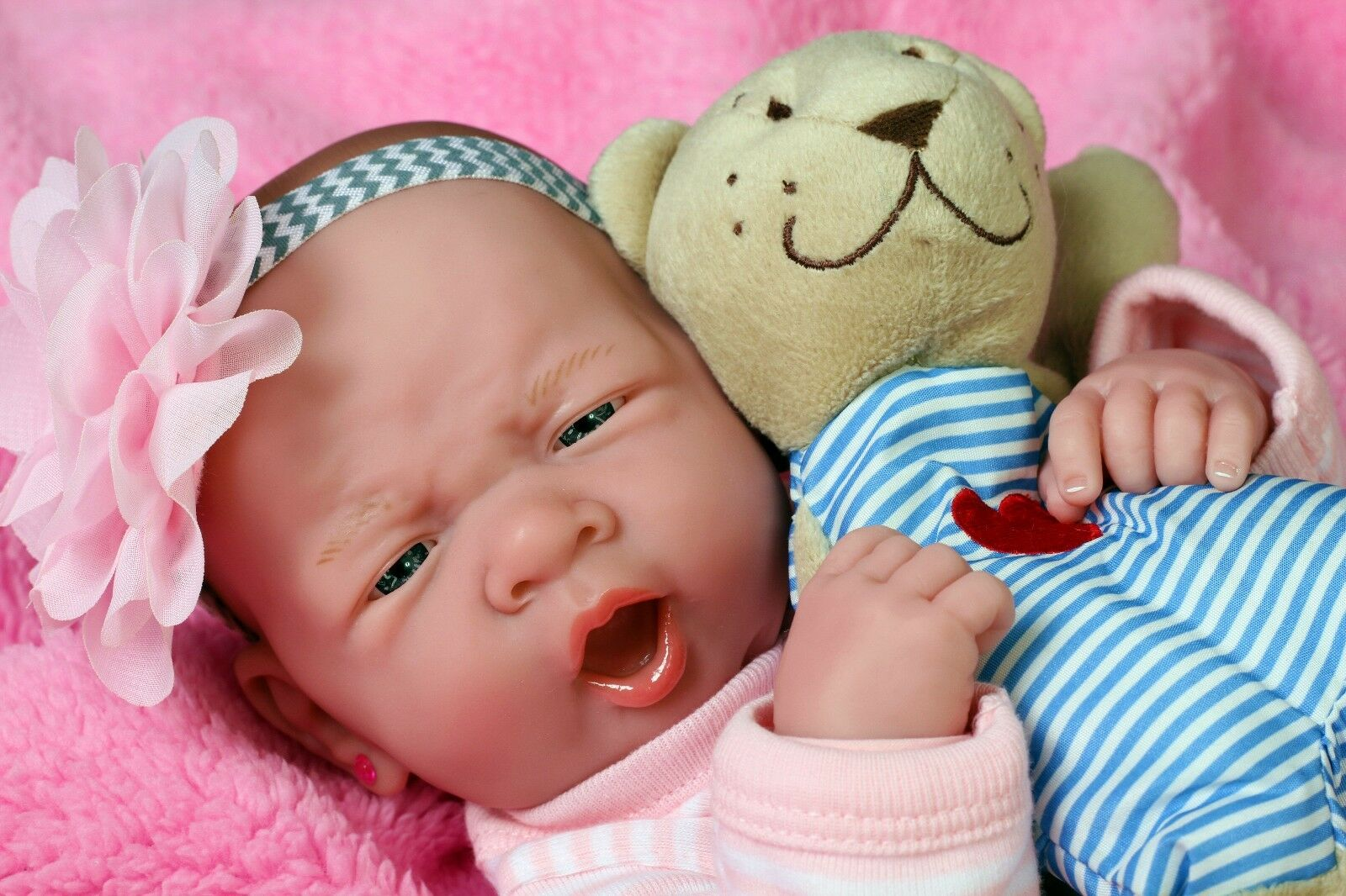 Baby Girl Doll Real Reborn Berenguer 15  Vinilo realista Regalo Juguete vivo recién nacido