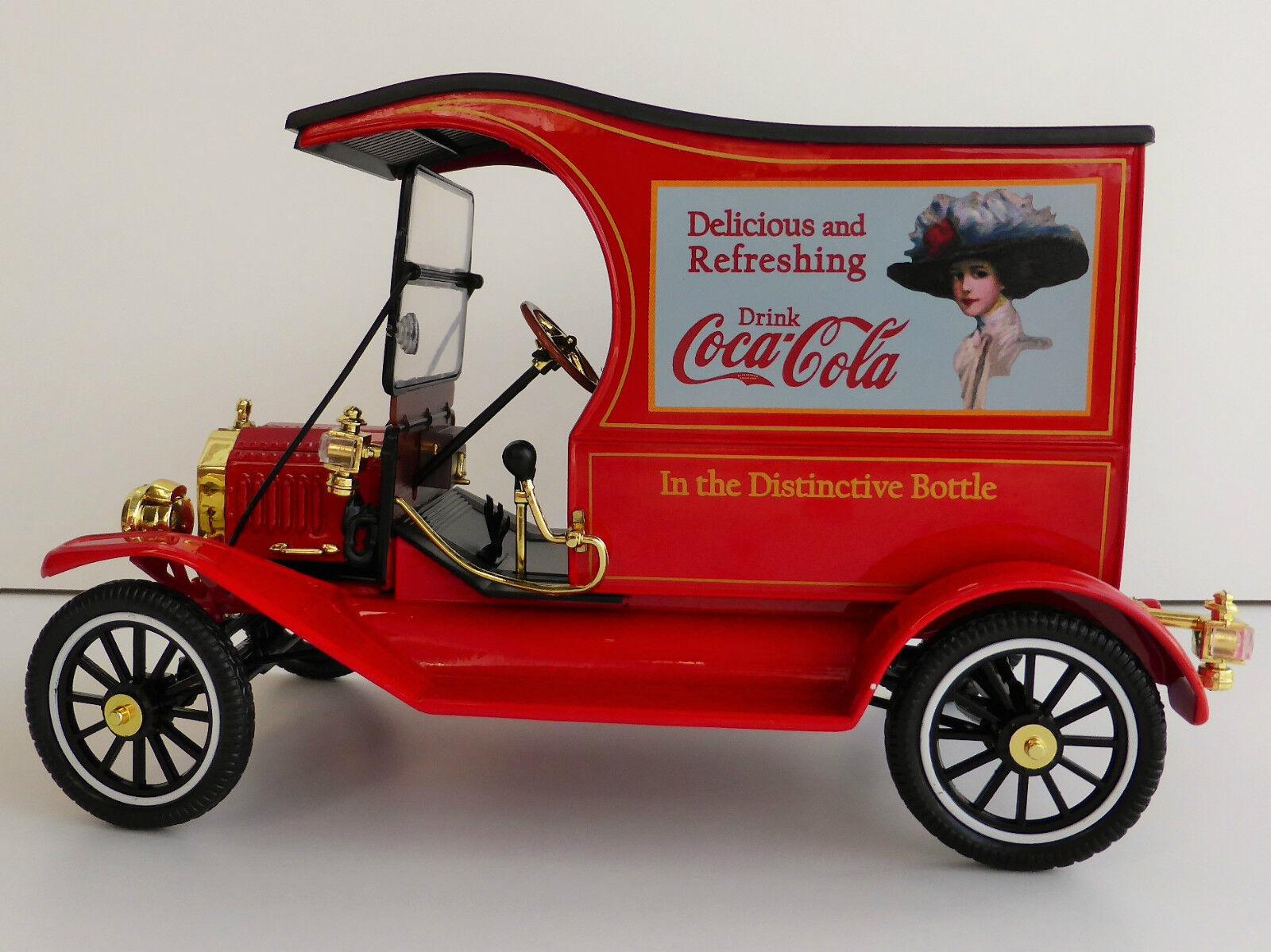 Coca Cola Ford T-Model Cargo 1 18 MOTORCITY CLASSICS 449804 Modèle T MODEL Coke