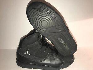 91731924c6b1e8 AIR JORDAN 23 FLIGHT SZ 3 BLACK LACE UP BIG KIDS SHOES Sneakers HR-4 ...