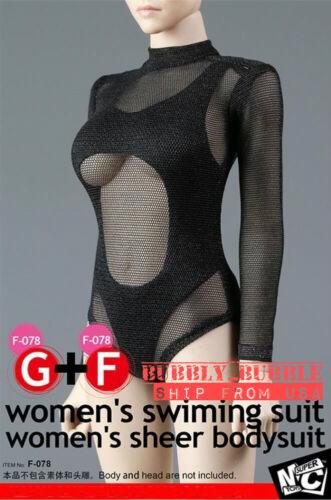 "1//6 Swimming Bodysuit Set For 12/"" PHICEN Hot Toys Female Figure SHIP FROM USA"