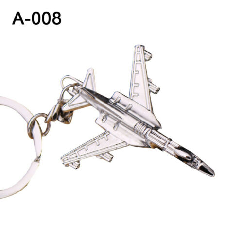 Flugzeug Modell Autoschlüssel Halter Rucksack Ornament Metall Schlüsselanhänger
