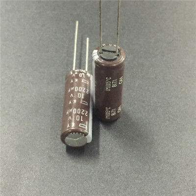 1500UF 10V NCC RADIAL ELECTROLYTIC CAPACITORS KZJ LOW ESR 10V1500UF 20PCS