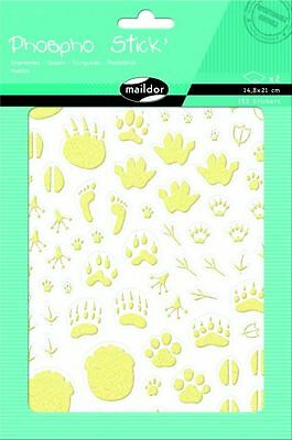7,5x12cm 3D-Sticker Sticker Set Cooky Hamster//Musik Maildor 24 tlg
