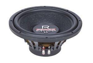 Systeme-audio-R-12-FA-300-mm-Free-Air-Caisson-de-basses