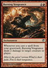 MTG 2x BURNING VENGEANCE - VENDETTA SCOTTANTE - ISD - MAGIC