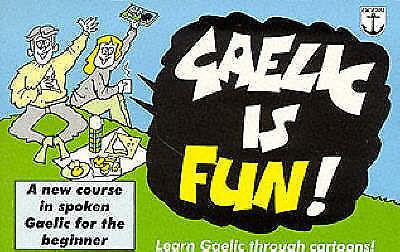 """""""AS NEW"""" Gaelic is Fun, Colm O Baoill, Book"""