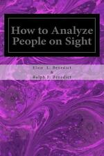 How to Analyze People on Sight (2014, Paperback)