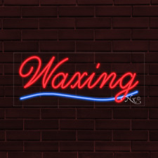 Brand New Waxing Withunderline 32x13x1 Inch Led Flex Indoor Sign 30648