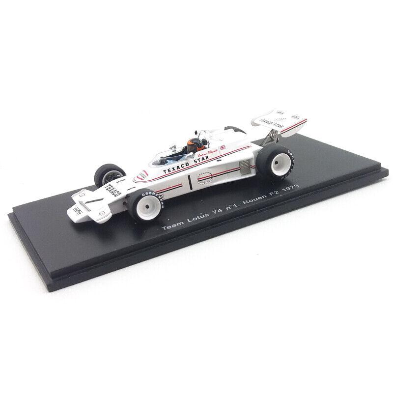 1973 Lotus 74  - Emerson Fittipaldi - Rouen - 1 43 Spark Models  excellent prix
