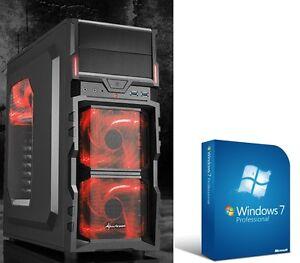 Quad-Core-Computer-gamer-a10-6790k-8gb-usb3-PC-Rechner-Komplett-System-windows-7
