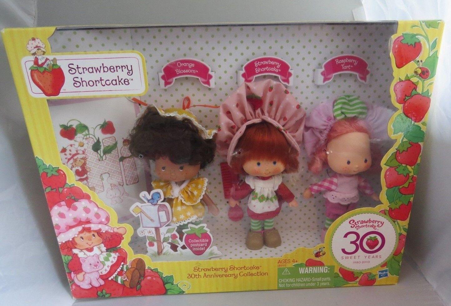 2010 Strawberry Shortcake 30. Anniversary Set, 3 Klassischer Stil Original