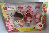 2010 Strawberry Shortcake 30th Anniversary Set, 3 Vintage Style Original Dolls