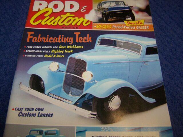 Rod & Customs  Magazine, Hot Rod,Rat Rod.Back Issue March  2008