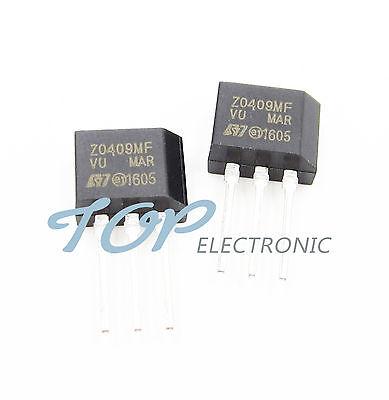10Pcs Z0409 Z0409MF 4A TRIACS TO-202 Good Quality