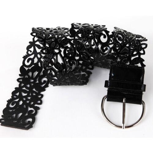 Womens D Design Buckle Waistband Wide Belt Solid Color Cummerbund Gifts one
