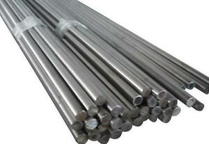 "Bright Mild Steel Round Bar EN3-1/"" Dia 200mm Long 1 Piece"