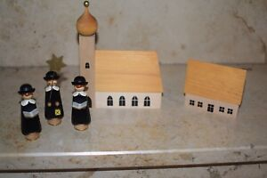 Kurrende 100 mm Kurrendefiguren rot Seiffen NEU Weihnachten Erzgebirge