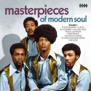 MASTERPIECES-OF-MODERN-SOUL-VOLUME-5-Various-NEW-amp-SEALED-CD-KENT-NORTHERN-R-amp-B