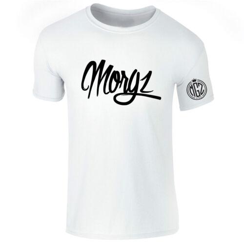 New Boys Girls Kids Morgz Youtuber Gaming Gamer Team Mogz MGZ T Shirt Top 3-15 S