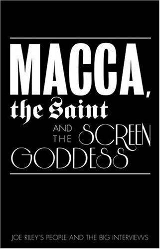 1 of 1 - Very Good 1905266723 Paperback Macca, the Bishop and the Screen Goddess Joe Rile