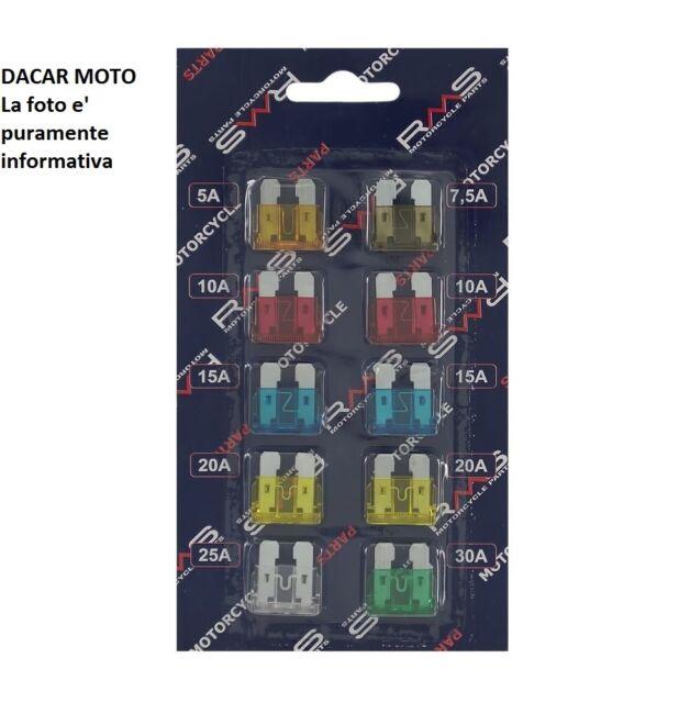 Set 10 fusibles surtido de fusibles de madera laminada encolada standard