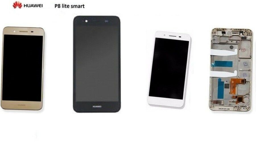 LCD DISPLAY HUAWEI P8 LITE SMART VETRO TOUCH SCREEN FRAME ...