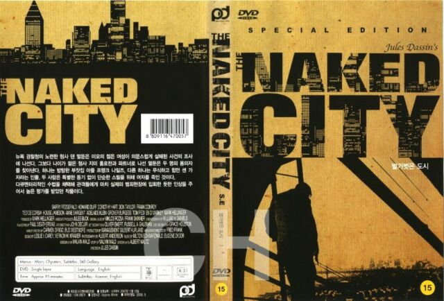 dvd Naked city