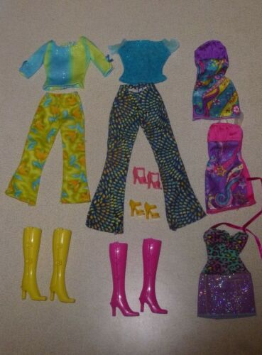 Barbie Fashion Avenue, Fashionistas lot of original clothes, shoes, boots