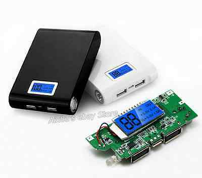 Dual USB 5V 1A 2.1A Mobile Power Bank 18650 Battery Charger Suite For Phone DIY