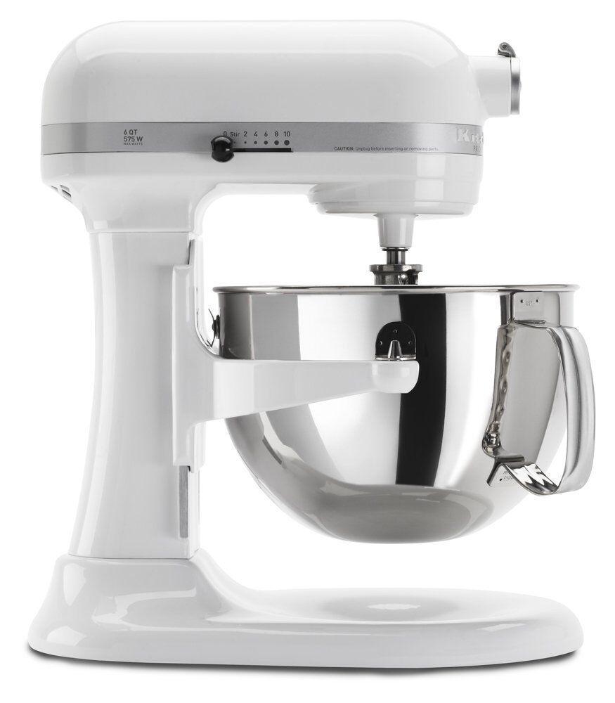 KitchenAid Professional 610 Bowl-Lift Stand Mixer 10-Speed blanc
