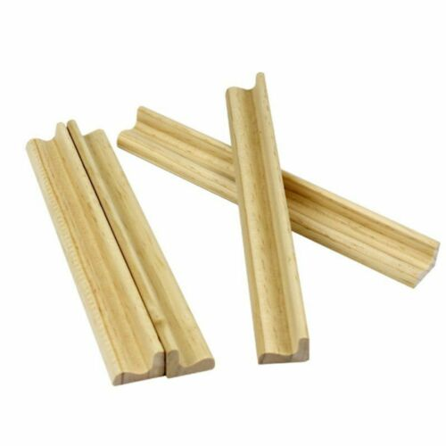 4pc Wood Tile Rack Wooden Scrabble Numbers Replacement Tiles Stand Crafts 2018