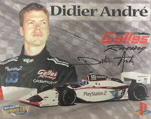 Didier-Andre-Hand-Signed-Autographed-8x10-Photo-Indy-Car-COA