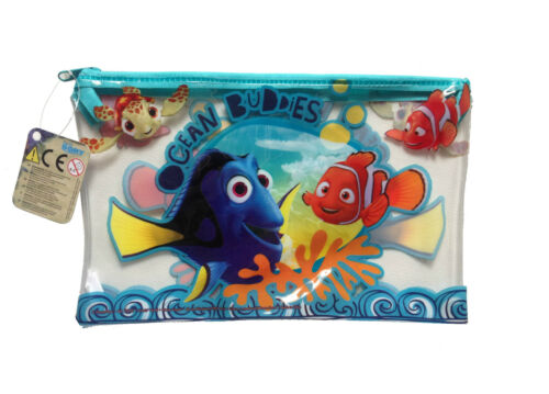 FINDING DORY Kids JUMBO PENCIL CASE Birthday Toy School Stationary Storage Gift