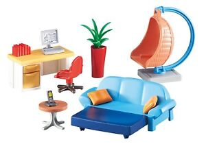 Playmobil-6457-Room-of-estar-youth-with-desk-and-rocking-pendant-wicker