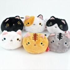 6PCS Neko Atsume Cat Backyard Japanese Meow Dango Mochi Stuffed Plush Doll Toys