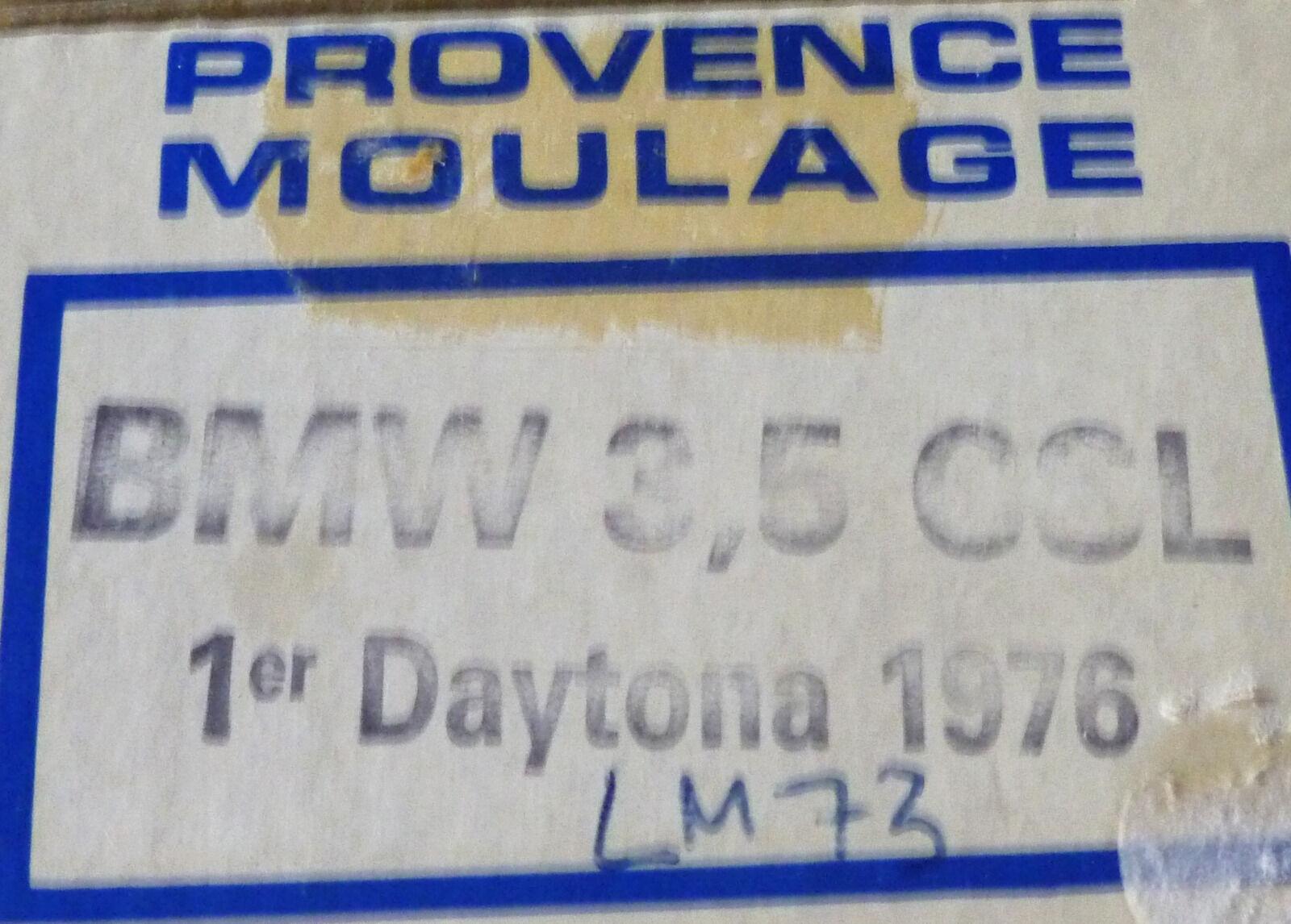 BMW 3,5  CSL - 1 DAYTONA  1976   - PROVENCE MOULAGE   1 43