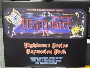 NEW-Nightmare-IV-Elizabeth-Bathory-Video-Board-Game-with-DVD-3rd-Party