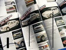 PROSPEKT KAMAI SPOILER ZUBEHÖR 1985 MERCEDES-BENZ AUDI OPEL VW GOLF BMW 3er FORD