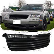 FRONT BLACK GRILL FOR VW PASSAT 3BG 00-05 NO EMBLEM SPOILER BODY KIT