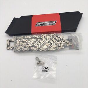 FSA Team Issue Chain CN-910N CN-910 10 Speed 116 Links w// Master Link NEW