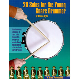 Wylie Publications 20SOLOS1 20 Solos For The Young Snare Drummer Volume 1 K