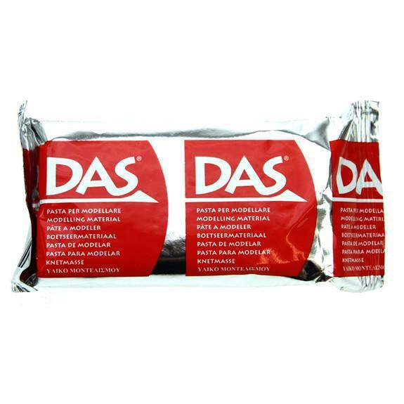 DAS Modelado Masilla por fila-aire secado fácil Molde Arcilla-Multipack de 4 X 150g