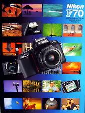 Nikon F70 Prospekt brochure - (0414)